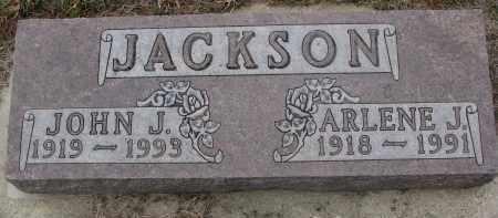 JACKSON, ARLENE J. - Stanton County, Nebraska   ARLENE J. JACKSON - Nebraska Gravestone Photos