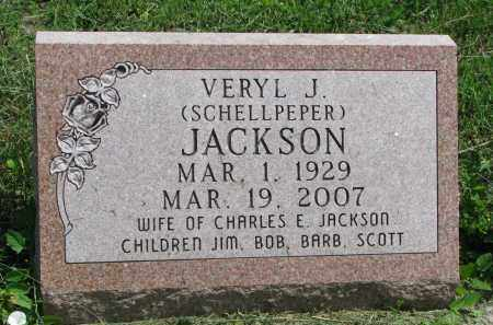 JACKSON, VERYL J. - Stanton County, Nebraska | VERYL J. JACKSON - Nebraska Gravestone Photos