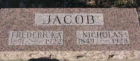 JACOB, NICHOLAS - Stanton County, Nebraska | NICHOLAS JACOB - Nebraska Gravestone Photos