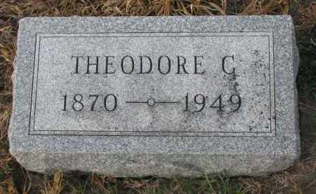 JAEKE, THEODORE C. - Stanton County, Nebraska | THEODORE C. JAEKE - Nebraska Gravestone Photos