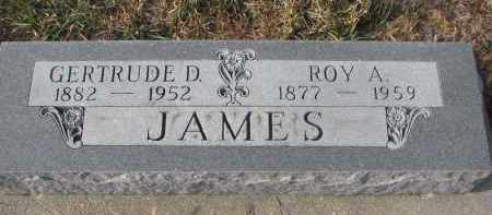 JAMES, GERTRUDE D. - Stanton County, Nebraska | GERTRUDE D. JAMES - Nebraska Gravestone Photos