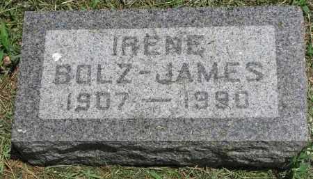 JAMES, IRENE - Stanton County, Nebraska | IRENE JAMES - Nebraska Gravestone Photos