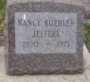 KOEHLER JEFFERS, NANCY - Stanton County, Nebraska | NANCY KOEHLER JEFFERS - Nebraska Gravestone Photos