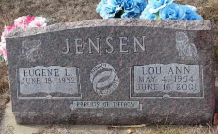 JENSEN, EUGENE L. - Stanton County, Nebraska | EUGENE L. JENSEN - Nebraska Gravestone Photos
