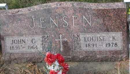 JENSEN, JOHN C. - Stanton County, Nebraska | JOHN C. JENSEN - Nebraska Gravestone Photos