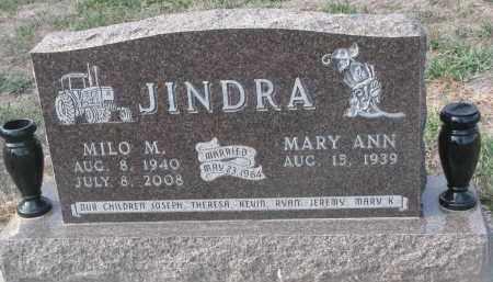 JINDRA, MILO M. - Stanton County, Nebraska | MILO M. JINDRA - Nebraska Gravestone Photos