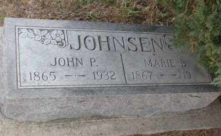 JOHNSEN, MARIE D. - Stanton County, Nebraska | MARIE D. JOHNSEN - Nebraska Gravestone Photos