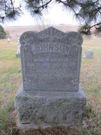 JOHNSON, ANNA - Stanton County, Nebraska   ANNA JOHNSON - Nebraska Gravestone Photos