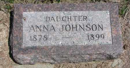 JOHNSON, ANNA - Stanton County, Nebraska | ANNA JOHNSON - Nebraska Gravestone Photos