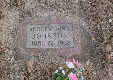 JOHNSON, ANDREW JOHN - Stanton County, Nebraska | ANDREW JOHN JOHNSON - Nebraska Gravestone Photos