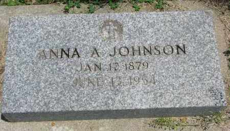 JOHNSON, ANNA A. - Stanton County, Nebraska | ANNA A. JOHNSON - Nebraska Gravestone Photos