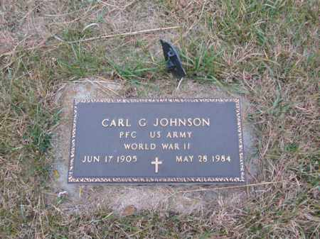 JOHNSON, CARL G - Stanton County, Nebraska | CARL G JOHNSON - Nebraska Gravestone Photos