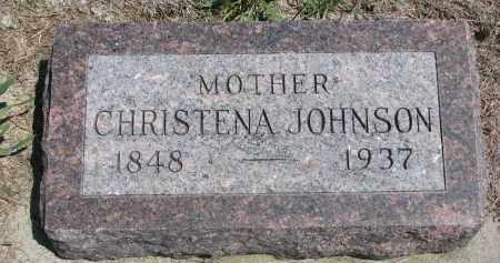 JOHNSON, CHRISTENA - Stanton County, Nebraska | CHRISTENA JOHNSON - Nebraska Gravestone Photos