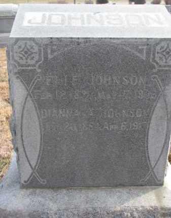 JOHNSON, ELI F. - Stanton County, Nebraska | ELI F. JOHNSON - Nebraska Gravestone Photos