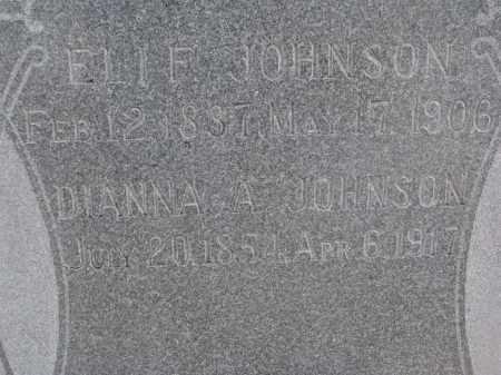 JOHNSON, DIANNA A. (CLOSEUP) - Stanton County, Nebraska | DIANNA A. (CLOSEUP) JOHNSON - Nebraska Gravestone Photos