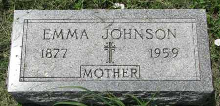 JOHNSON, EMMA - Stanton County, Nebraska | EMMA JOHNSON - Nebraska Gravestone Photos