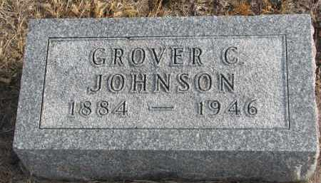 JOHNSON, GROVER C. - Stanton County, Nebraska | GROVER C. JOHNSON - Nebraska Gravestone Photos