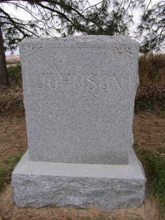 JOHNSON, HAROLD O - Stanton County, Nebraska | HAROLD O JOHNSON - Nebraska Gravestone Photos