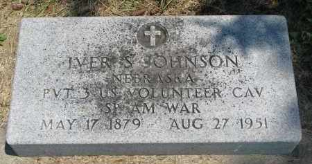 JOHNSON, IVER S. - Stanton County, Nebraska   IVER S. JOHNSON - Nebraska Gravestone Photos