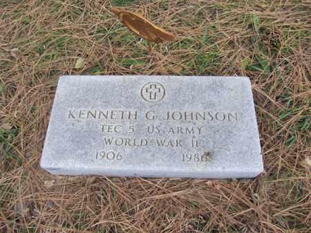 JOHNSON, KENNETH G - Stanton County, Nebraska | KENNETH G JOHNSON - Nebraska Gravestone Photos