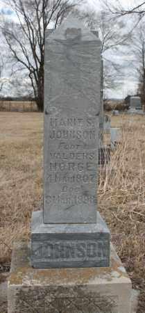 JOHNSON, MARIT S - Stanton County, Nebraska   MARIT S JOHNSON - Nebraska Gravestone Photos