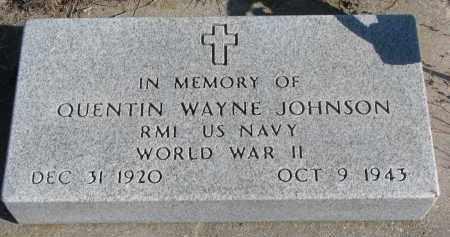 JOHNSON, QUENTIN WAYNE - Stanton County, Nebraska | QUENTIN WAYNE JOHNSON - Nebraska Gravestone Photos