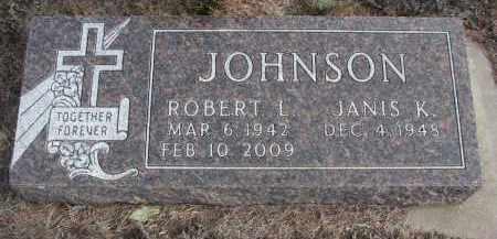 JOHNSON, ROBERT L. - Stanton County, Nebraska | ROBERT L. JOHNSON - Nebraska Gravestone Photos