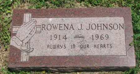 JOHNSON, ROWENA J. - Stanton County, Nebraska   ROWENA J. JOHNSON - Nebraska Gravestone Photos