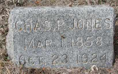JONES, CHARLES P. - Stanton County, Nebraska | CHARLES P. JONES - Nebraska Gravestone Photos