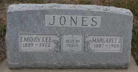 JONES, EMORY LEE - Stanton County, Nebraska   EMORY LEE JONES - Nebraska Gravestone Photos
