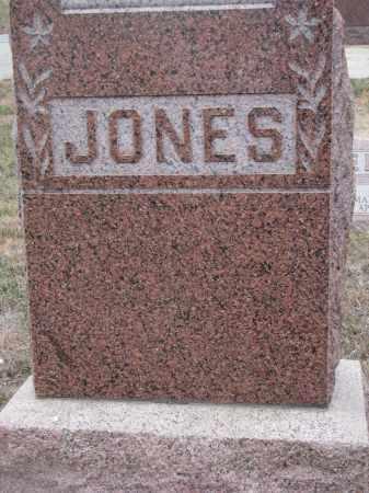 JONES, PLOT STONE - Stanton County, Nebraska | PLOT STONE JONES - Nebraska Gravestone Photos