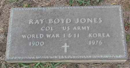 JONES, RAY BOYD - Stanton County, Nebraska | RAY BOYD JONES - Nebraska Gravestone Photos