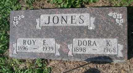 JONES, ROY E. - Stanton County, Nebraska | ROY E. JONES - Nebraska Gravestone Photos