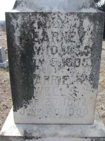 WELLS, CARRIE E. (CLOSEUP) - Stanton County, Nebraska   CARRIE E. (CLOSEUP) WELLS - Nebraska Gravestone Photos