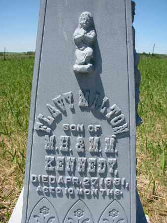KENNEDY, FLAVY (CLOSEUP) - Stanton County, Nebraska   FLAVY (CLOSEUP) KENNEDY - Nebraska Gravestone Photos