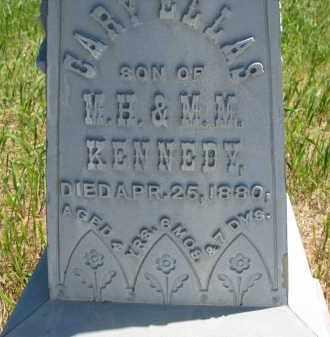 KENNEDY, GARY (CLOSEUP) - Stanton County, Nebraska | GARY (CLOSEUP) KENNEDY - Nebraska Gravestone Photos