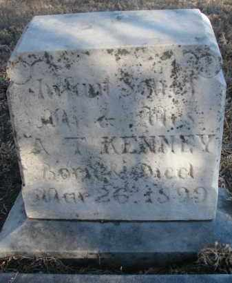 KENNEY, INFANT SON - Stanton County, Nebraska | INFANT SON KENNEY - Nebraska Gravestone Photos
