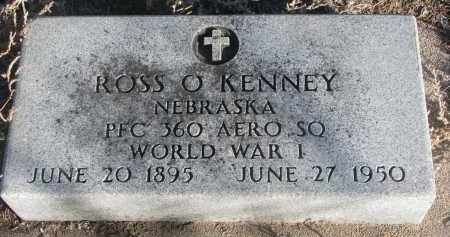 KENNEY, ROSS O. - Stanton County, Nebraska | ROSS O. KENNEY - Nebraska Gravestone Photos