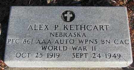 KETHCART, ALEX P. - Stanton County, Nebraska   ALEX P. KETHCART - Nebraska Gravestone Photos