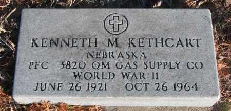 KETHCART, KENNETH M. - Stanton County, Nebraska   KENNETH M. KETHCART - Nebraska Gravestone Photos