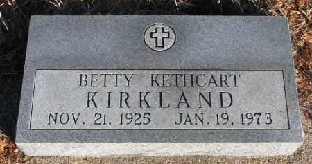 KIRKLAND, BETTY - Stanton County, Nebraska | BETTY KIRKLAND - Nebraska Gravestone Photos