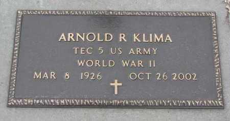 KLIMA, ARNOLD R. (WW II) - Stanton County, Nebraska | ARNOLD R. (WW II) KLIMA - Nebraska Gravestone Photos