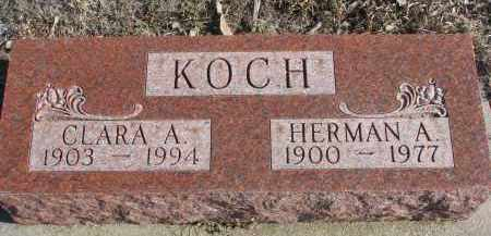 KOCH, HERMAN A. - Stanton County, Nebraska | HERMAN A. KOCH - Nebraska Gravestone Photos