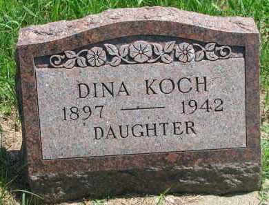 KOCH, DINA - Stanton County, Nebraska | DINA KOCH - Nebraska Gravestone Photos