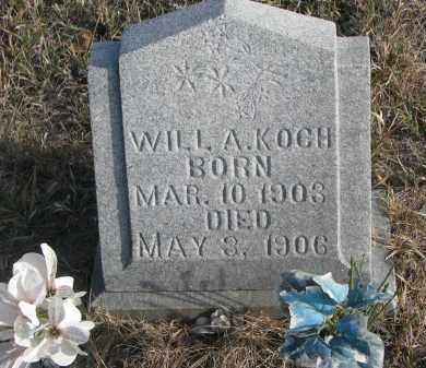 KOCH, WILL A. - Stanton County, Nebraska | WILL A. KOCH - Nebraska Gravestone Photos