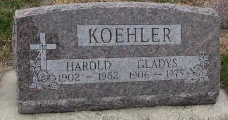 KOEHLER, HAROLD - Stanton County, Nebraska | HAROLD KOEHLER - Nebraska Gravestone Photos
