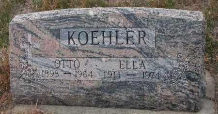 KOEHLER, ELLA - Stanton County, Nebraska | ELLA KOEHLER - Nebraska Gravestone Photos