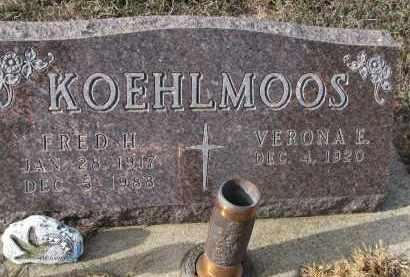 KOEHLMOOS, FRED H. - Stanton County, Nebraska | FRED H. KOEHLMOOS - Nebraska Gravestone Photos