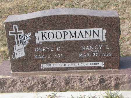 KOOPMANN, NANCY L. - Stanton County, Nebraska | NANCY L. KOOPMANN - Nebraska Gravestone Photos