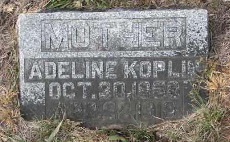 KOPLIN, ADELINE - Stanton County, Nebraska | ADELINE KOPLIN - Nebraska Gravestone Photos